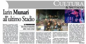Article Gazzettino Iarin